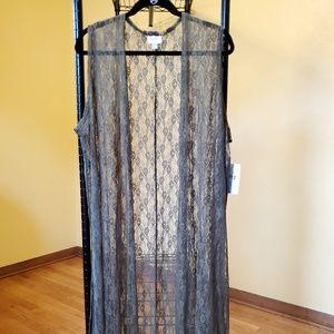 Lularoe Lace Joy Vest